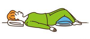 腰痛寝方仰向け