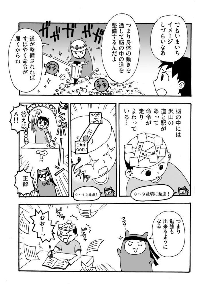運動神経を高める体操プログラム紹介漫画5