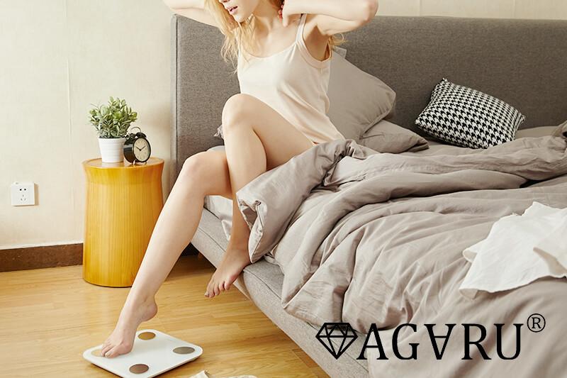 睡眠の質を改善する女性